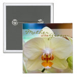 Orchid • Mother of the Groom Wedding Button