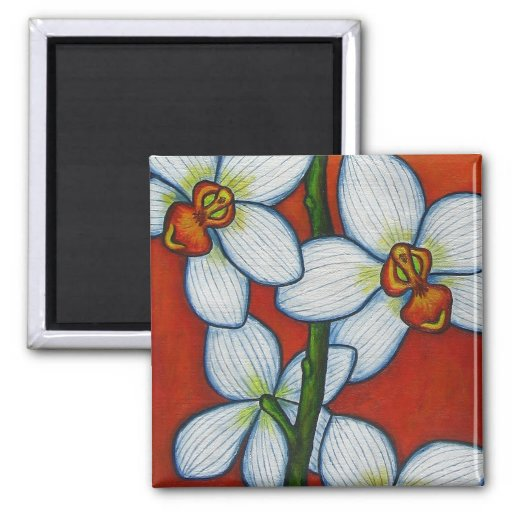 Orchid Oasis Magnet #3