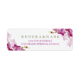 Orchid Paradise Address Labels