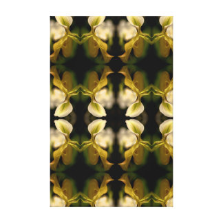Orchid Pattern Canvas Print