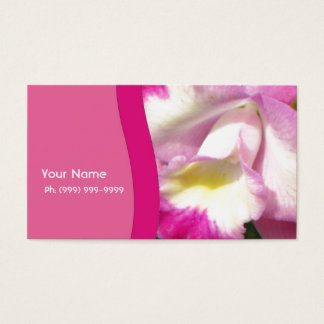Orchid Personal Business Card