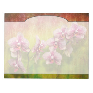 Orchid - Phalaenopsis - Simply a delight Notepad
