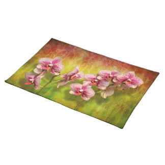 Orchid - Phalaenopsis - Simply a delight Placemat