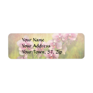 Orchid - Phalaenopsis - Simply a delight Return Address Label
