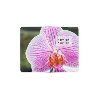 Orchid Pink Asian Flower Pocket Moleskine Notebook