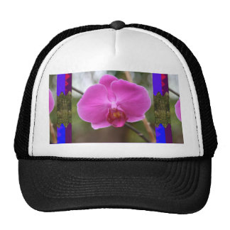 ORCHID pink Pearl Flower Love Romance Expression Hat