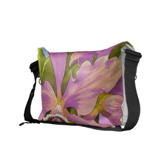 Orchid Pop Courier Bags
