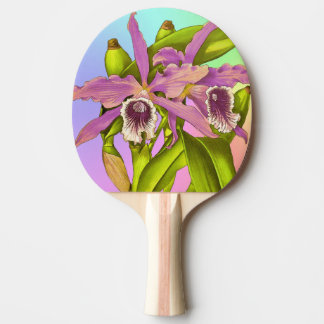 Orchid Pop Ping Pong Paddle