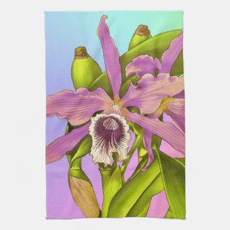 Orchid Pop Tea Towel