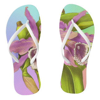Orchid Pop Thongs