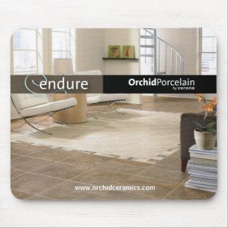 Orchid Porcelain Mouse Pad - Endure Series