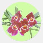 Orchid Spray Sticker Seal