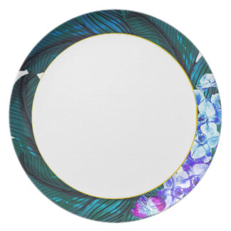Orchid Tropical Plate