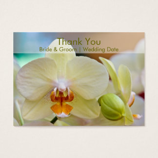 Orchid • Wedding Favour Tag Business Card