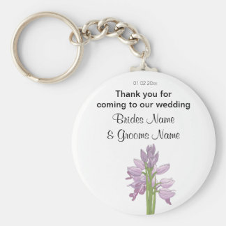 Orchid Wedding Souvenirs Keepsakes Giveaways Key Ring