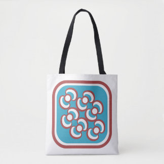 Orchideas (two) / Custom All-Over-Print Tote Bag