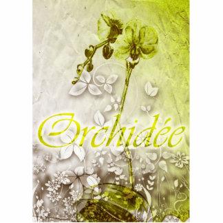 Orchidee Standing Photo Sculpture