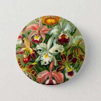 Orchids 6 Cm Round Badge