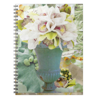 Orchids Blank Notebook