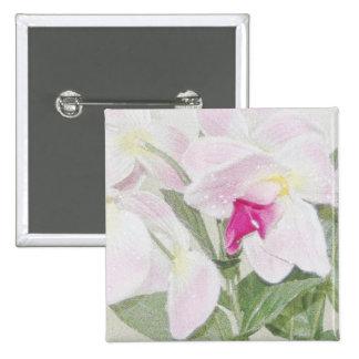 Orchids Button