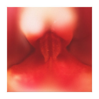 Orchid's flesh 24'' x 24'' canvas print