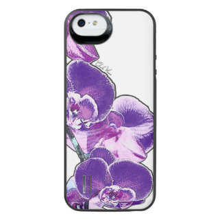 Orchids iPhone SE/5/5s Battery Case