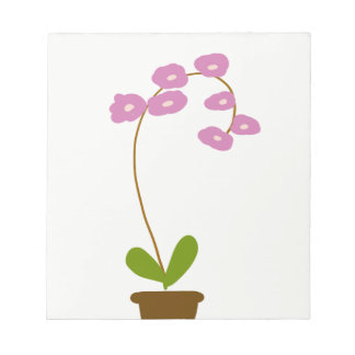 orchids notepad
