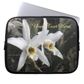 Orchids Obsession Neoprene Laptop Sleeve