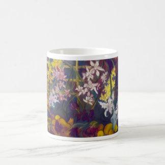 Orchids Origins IX, FauveArts.com Coffee Mug