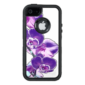 Orchids OtterBox Defender iPhone Case