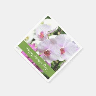Orchids Paper Napkins