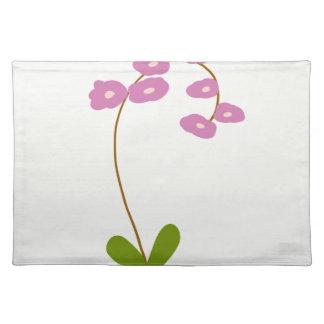 orchids placemat