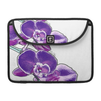 Orchids Sleeve For MacBook Pro