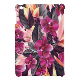 Orchids. Tropical design with beautiful flowers Case For The iPad Mini