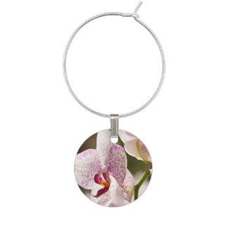 Orchids Wine Charm
