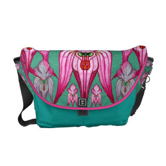 Orchis tridentata courier bag