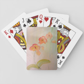 Orcid Watercolor Playing Cards