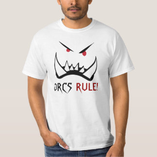 Orcs rule, monster t-shirt