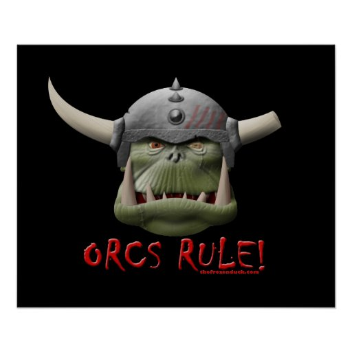 Orcs Rule! Poster