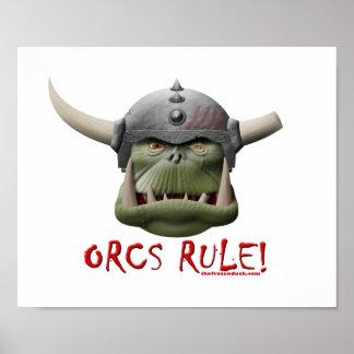 Orcs Rule! Print
