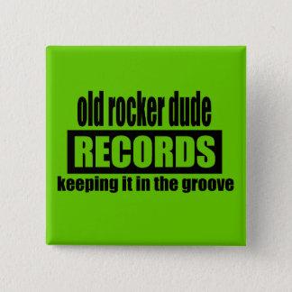 ORD Records 15 Cm Square Badge
