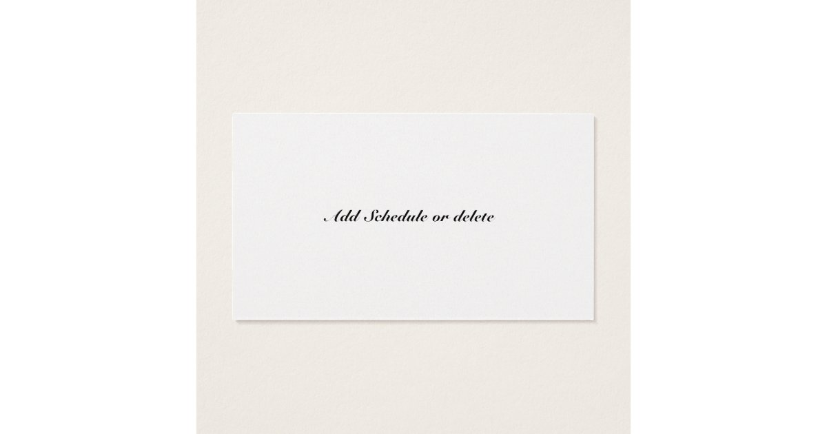 Ordained Minister's Business Card | Zazzle