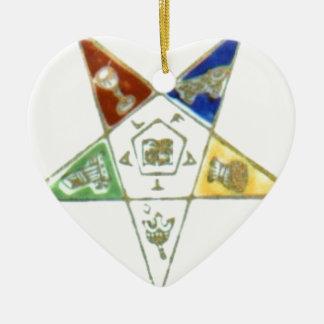 Order Eastern Star Ceramic Ornament