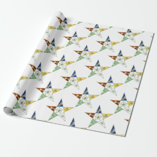 Order Eastern Star Wrapping Paper