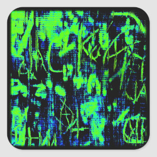 Order in the Chaos Square Sticker