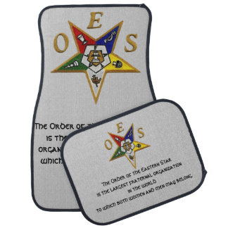 ORDER of the EASTERN STAR CUSTOM CAR MATS