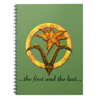 Order of the Lily Notebook