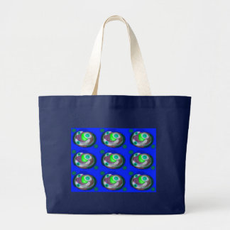 Order out of chaos large tote bag