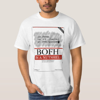 O'Really - BOFH in a Nutshell T-Shirt
