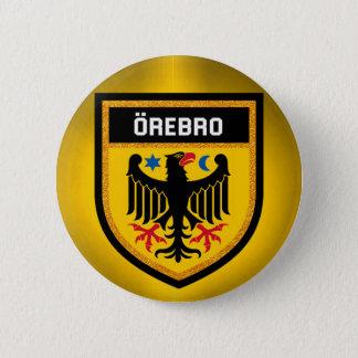 Örebro Flag 6 Cm Round Badge